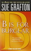 Cover art for 'B' IS FOR BURGLAR