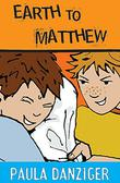 Cover art for EARTH TO MATTHEW