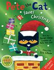 Cover art for PETE THE CAT SAVES CHRISTMAS