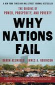 Cover art for WHY NATIONS FAIL