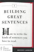Cover art for BUILDING GREAT SENTENCES
