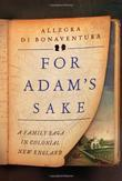Cover art for FOR ADAM'S SAKE