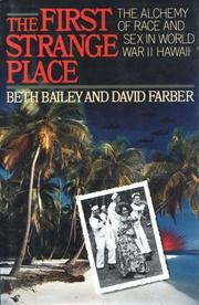 Cover art for THE FIRST STRANGE PLACE