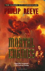 Cover art for MORTAL ENGINES