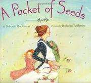Book Cover for A PACKET OF SEEDS