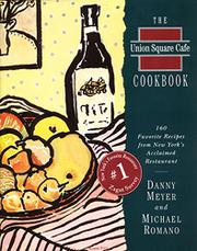 Cover art for THE UNION SQUARE CAFE COOKBOOK