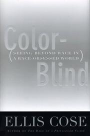 Cover art for COLOR-BLIND