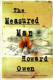 Cover art for THE MEASURED MAN