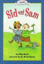 Cover art for SID AND SAM