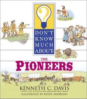 Cover art for DON'T KNOW MUCH ABOUT THE PIONEERS