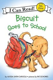 Cover art for BISCUIT GOES TO SCHOOL
