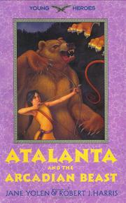 Cover art for ATALANTA AND THE ARCADIAN BEAST