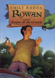 Book Cover for ROWAN AND THE KEEPER OF THE CRYSTAL