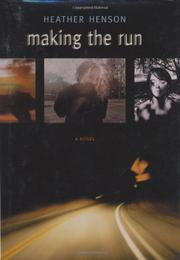 Cover art for MAKING THE RUN