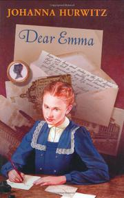 Cover art for DEAR EMMA