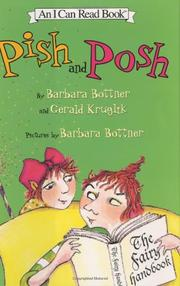 Cover art for PISH AND POSH