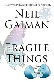 Cover art for FRAGILE THINGS