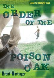 Book Cover for THE ORDER OF THE POISON OAK