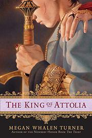 Cover art for THE KING OF ATTOLIA