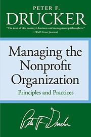 Book Cover for MANAGING THE NONPROFIT ORGANIZATION