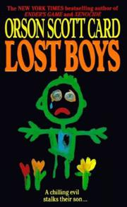 Cover art for LOST BOYS