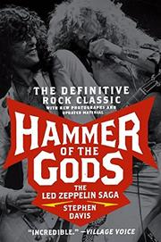 Book Cover for HAMMER OF THE GODS: The Led Zeppelin Saga