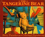 Cover art for THE TANGERINE BEAR