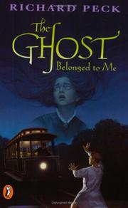 Cover art for THE GHOST BELONGED TO ME