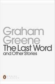 Cover art for THE LAST WORD And Other Stories
