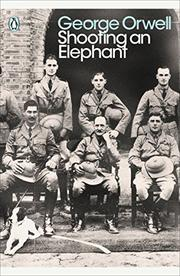 Book Cover for SHOOTING AN ELEPHANT