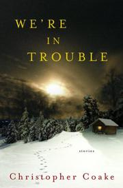 Book Cover for WE'RE IN TROUBLE