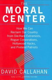 Cover art for THE MORAL CENTER