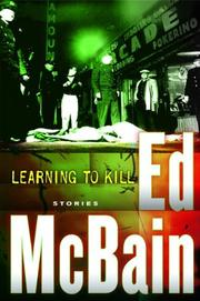 Cover art for LEARNING TO KILL