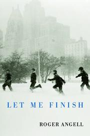Cover art for LET ME FINISH