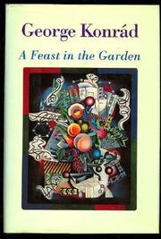 Cover art for A FEAST IN THE GARDEN