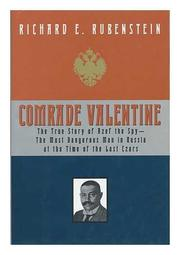 Cover art for COMRADE VALENTINE