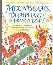Book Cover for MOONBEAMS, DUMPLINGS & DRAGON BOATS