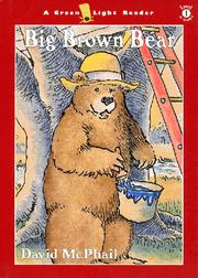 Cover art for BIG BROWN BEAR