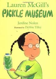 Cover art for LAUREN MCGILL'S PICKLE MUSEUM