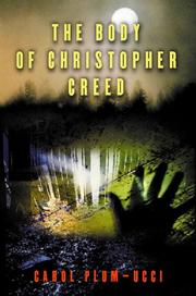 Book Cover for THE BODY OF CHRISTOPHER CREED