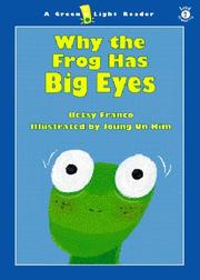 Cover art for WHY THE FROG HAS BIG EYES