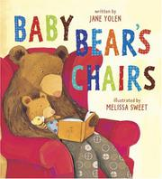 Cover art for BABY BEAR'S CHAIRS