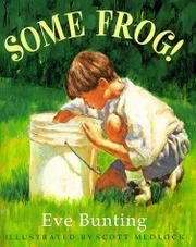 Cover art for SOME FROG!