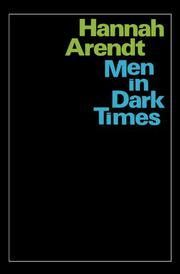 Cover art for MEN IN DARK TIMES