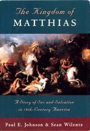 Cover art for THE KINGDOM OF MATTHIAS