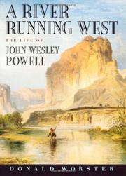Book Cover for A RIVER RUNNING WEST