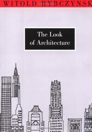 Cover art for THE LOOK OF ARCHITECTURE