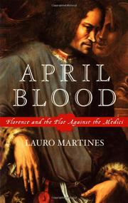 Cover art for APRIL BLOOD
