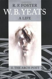 Cover art for W.B. YEATS, A LIFE