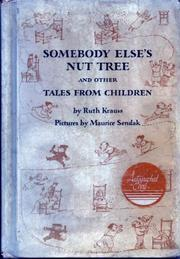 Cover art for SOMEBODY ELSE'S NUT TREE AND OTHER TALES FROM CHILDREN